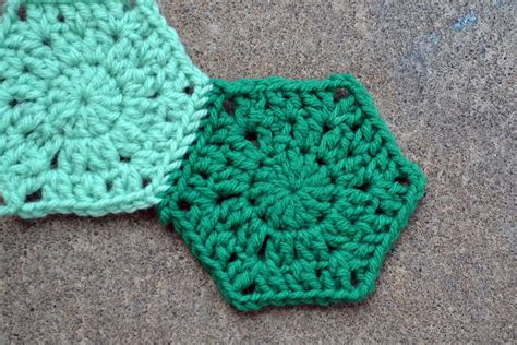 pattern crochet hexagon crochet in color hexagons and more