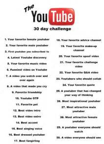 challenges to do with friends at home the 30 day challenge and to my friends this is