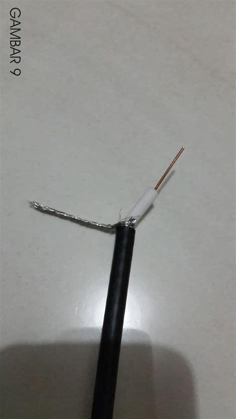 Kawat Tembaga 0 7 Cm saya belajar antenna j pole untuk televisi