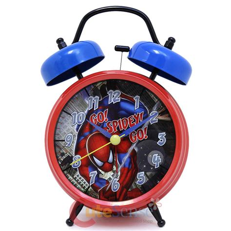 marvel spider sense bell alarm clock go spidy go ebay