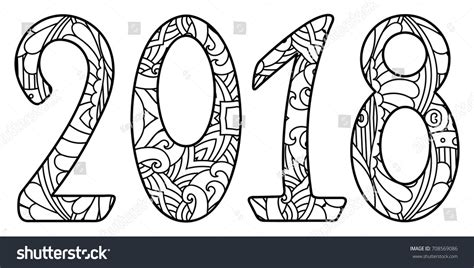 solidworks 2018 black book colored books black white new year numbers 2018 stock vector 708569086