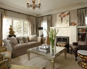 Hgtv Livingrooms traditional living room with metallic coffee table