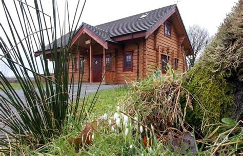 Wales Log Cabins With Tub by Dwr Y Felin Luxury Log House Holidays With Tubs Mid