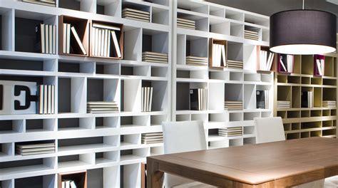 libreria bifacciale libreria modulare moderna bifacciale brick sololibrerie