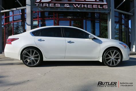 nissan altima custom rims nissan altima custom wheels tsw rouge 20x et tire size