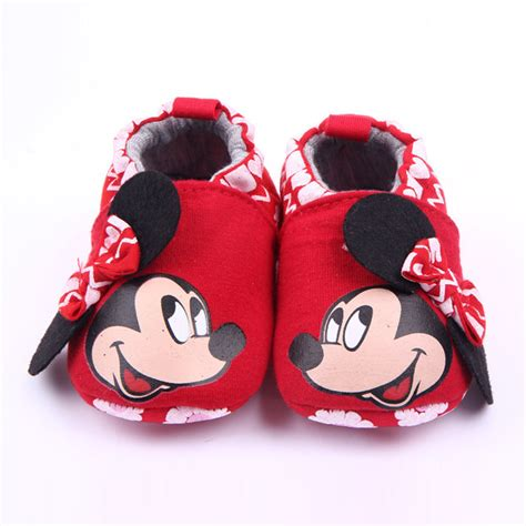 baby slippers brand baby shoes minnie loafers newborn crib