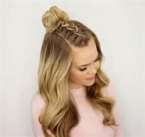hairstyles that whisps in back and in the front 45 gorgeous half up half down hairstyles her canvas