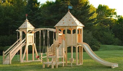 princess swing set 30 cool outdoor play sets for kids summer activities