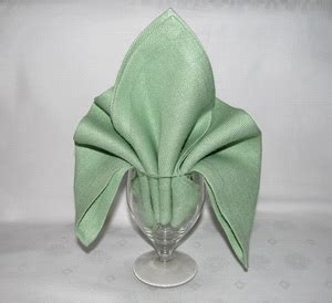 Folding Paper Napkins In Glasses - fancy napkin folding all about wedding