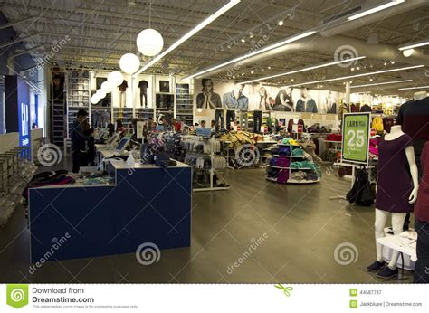 seattle lighting outlet store gap outlet store editorial photography image 44587737