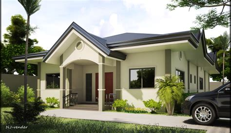 Two Story Bungalow House Plans by Single Storey House Designs Home Design