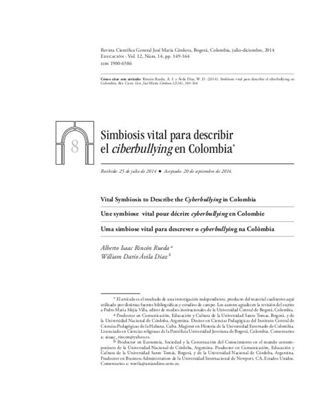 articulo bullying slideshare ciberbullying en colombia
