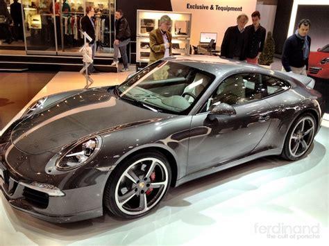 Ferdinand Porsche Magazine by Ferdinand Porsche 911 991 Ducktail Spoiler 8 Ferdinand