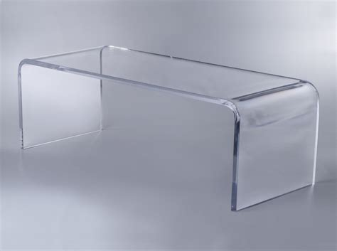 plexi craft coffee table waterfall coffee table plexi craft signature collection