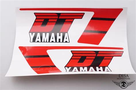 Yamaha Aufkleber Satz by Yamaha Dt 50 Mx Tank Aufkleber Satz Sticker Dekor Rot
