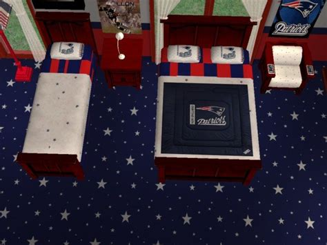 new england patriots bedroom mod the sims new england patriots set for firefly001282