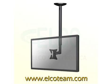 supporto tv da soffitto supporto da soffitto per lcd led tft newstar fpma