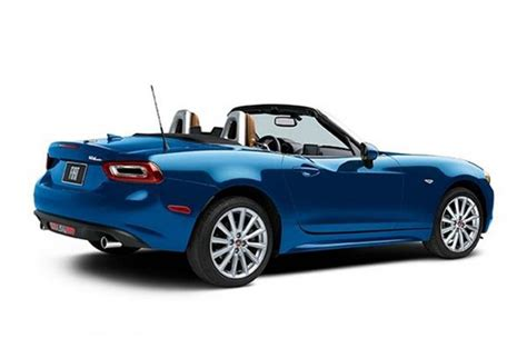 Fiat 124 Spider Specs 2016 Fiat 124 Spider Pricing And Specification Revealed