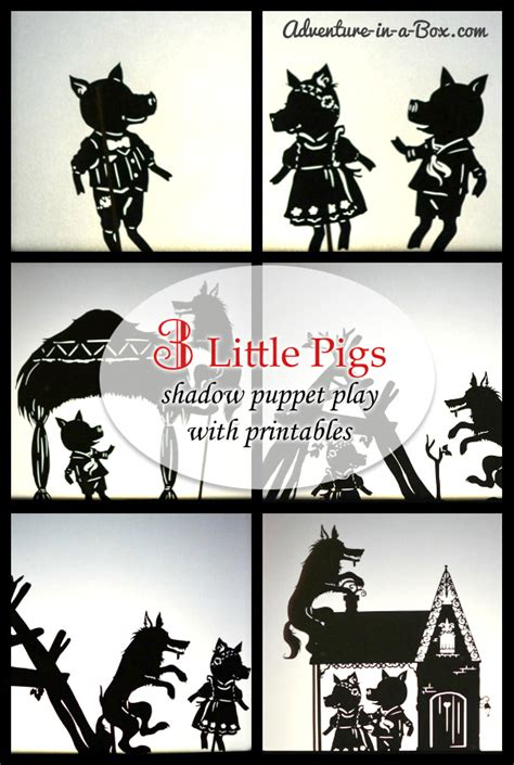 new year shadow puppet templates guest post three pigs shadow puppet play with