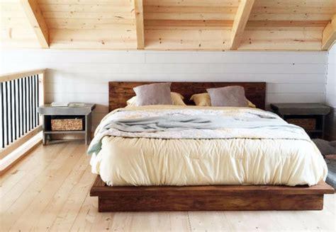 base de lit rustique en bois neuf tres solide woodrich
