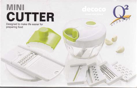 Mini Cutter Plus Slicer Q2 q2 mini cutter p 202 lengkap decoco