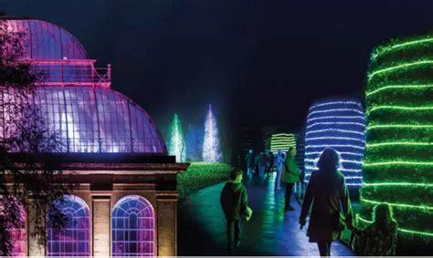 botanical garden light show creative light show will illuminate garden daily business
