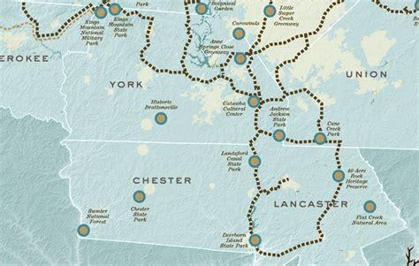 carolina thread trail map unraveling the carolina thread trail eagles nest