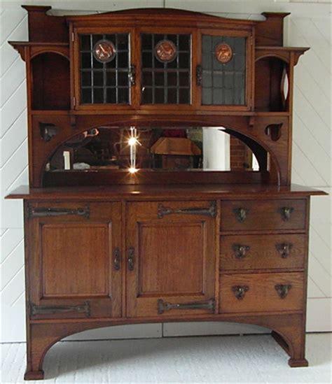 arts crafts oak dresser