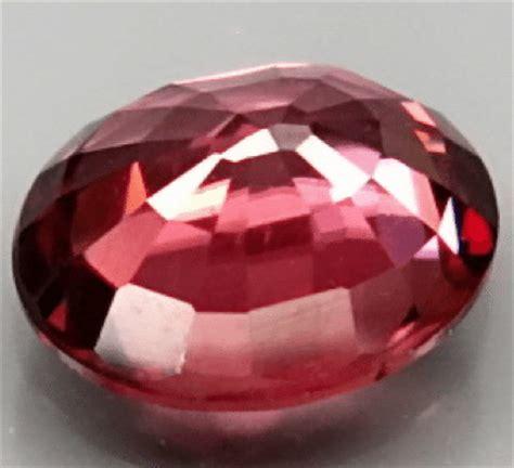 1 39ct Chagne Zircon Kamboja Top Luster 1 06 ct pinkish zircon gemstone