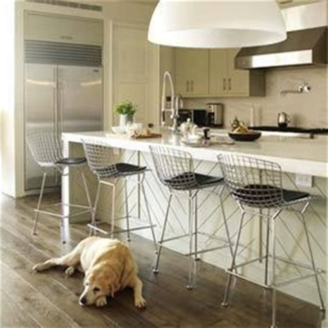 Bertoia Style Wire Bar Stool by Bertoia Style Wire Bar Stool Chair