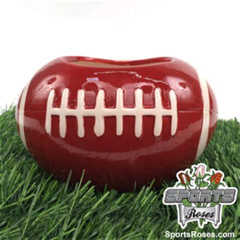 Ceramic Football Vase by Ceramic Football Planter Vase