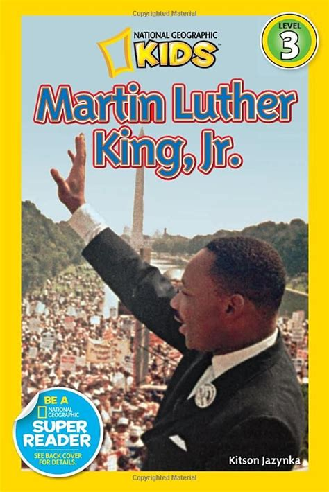 national geographic readers walt disney readers bios books national geographic readers martin luther king jr