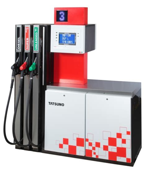 Dispenser Tatsuno 4 Nozzle fuel dispensers