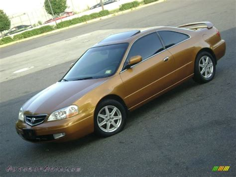 Cl Gold 2001 acura cl 3 2 type s in sundance gold metallic photo