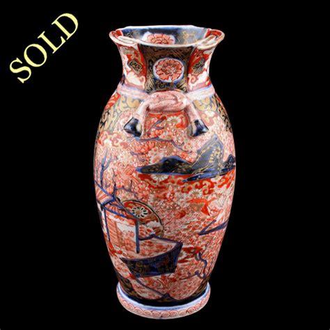 Imari Vase by Antique Imari Vase Japanese Arita Imari Vase