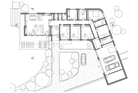 l shaped floor plans l shaped house plans with walkout basement modern house plan