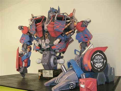 Papercraft Transformers Optimus Prime - optimus prime papercraft by janmarciniak on deviantart