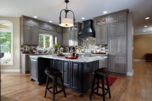 Grey Maple Kitchen Cabinets Kitchen Maple Floors Gray Cabinets Walls White Trim Favorite Places Spaces