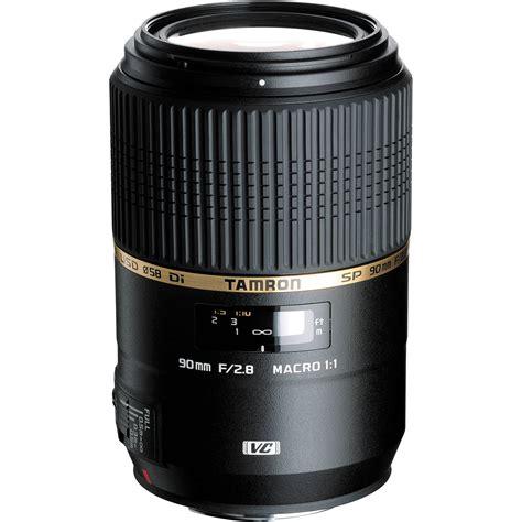 Lensa Macro Tamron Sp Af 90mm F28 Di 11 For Sony A Mount tamron 90mm f 2 8 sp di macro 1 1 vc usd lens aff004c 700 b h