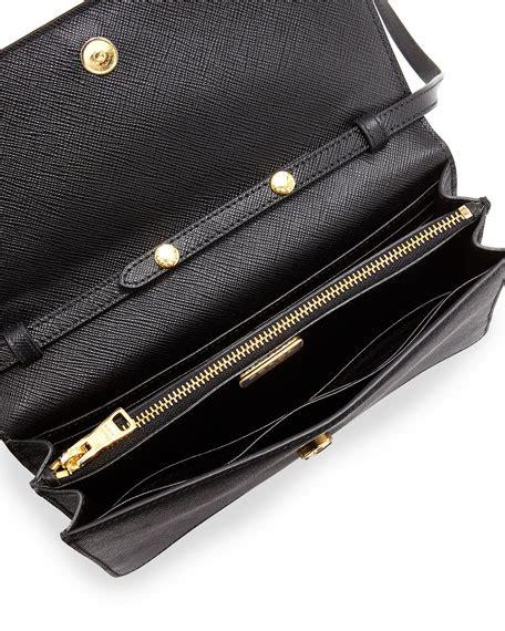 P Da Saffiano Mini Free Dompet prada saffiano mini crossbody bag black nero