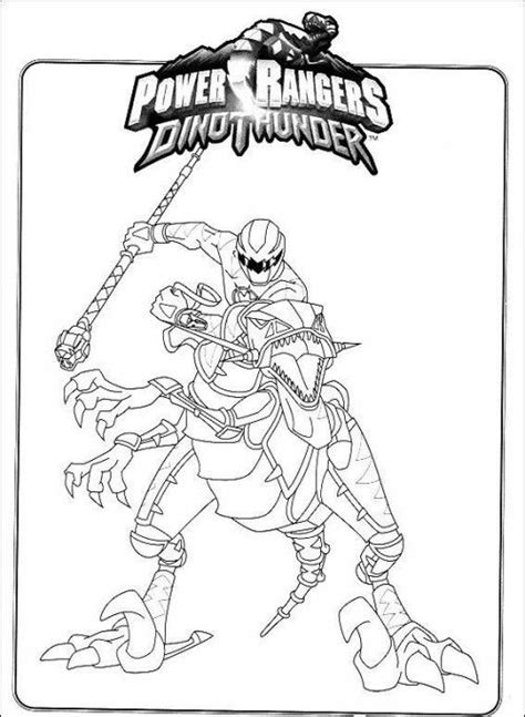 power rangers robot coloring pages power rangers dino thunder riding robot coloring page