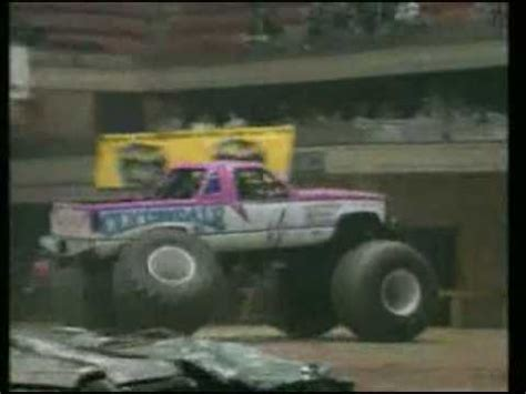 monster truck crashes video old monster truck crashes youtube