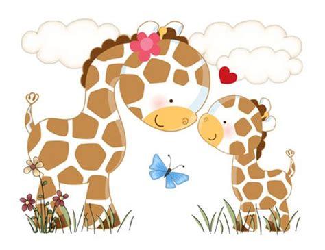 Monkey Wall Murals jungle love giraffe wall art mural decal for baby girl boy