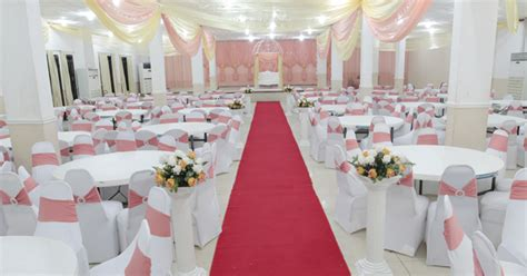 pictures of outdoor wedding decoration in nigeria top 8 affordable wedding venues in nigeria for your big day