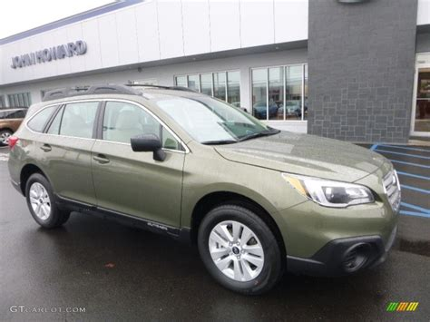 green subaru outback 2017 wilderness green metallic subaru outback 2 5i