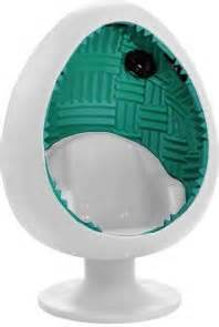 Sound egg chair off white teal cheap home theater speakers