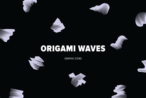 origami waves origami waves graphics youworkforthem