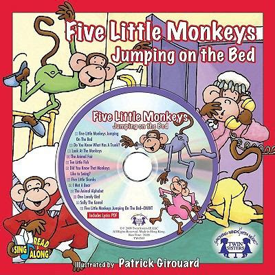 five little monkeys jumping on the bed book five little monkeys jumping on the bed with cd audio by twin sisters patrick