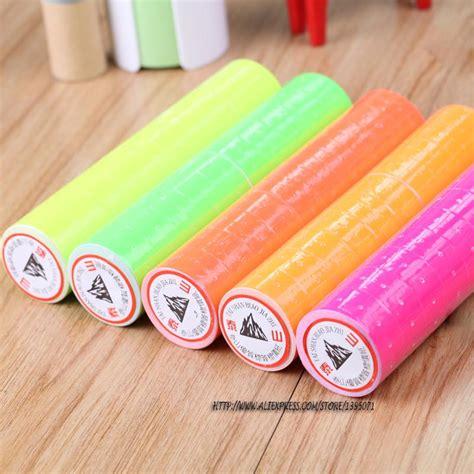 Price Labeller Joyko Mx 5500m Label Harga Sticker Harga 1 sale 10 rolls a barrel 4000pcs colorful adhesive price labels paper tag sticker for mx