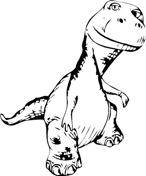 Scary Dinosaur Coloring Pages scary dinosaur coloring page coloring pages animals org